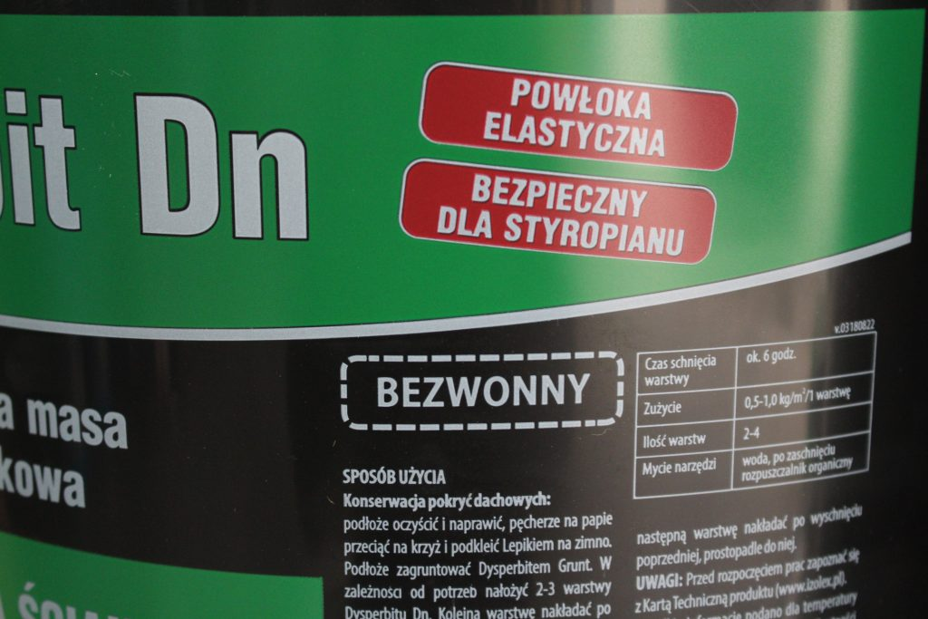 Etykieta Dysperbit DN